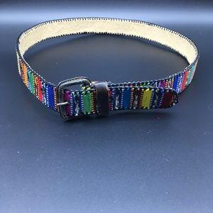 Accessories - Colorful Serape Belt 34
